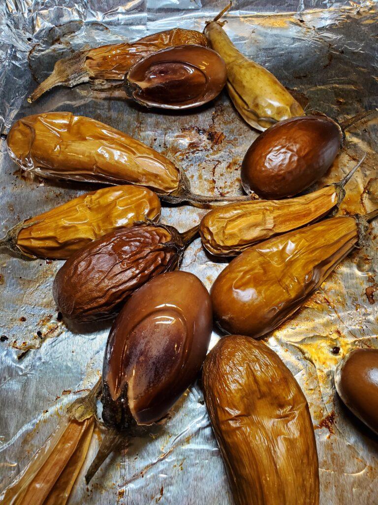 Baked Fairytale Eggplant for Fairytale Eggplant Ganoush Recipe